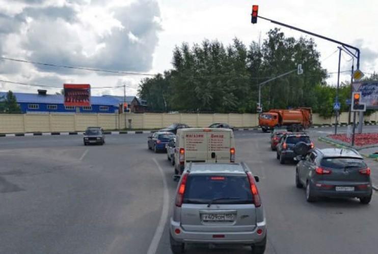 Видеоэкран в г. Лыткарино на пересечение ул.Парковая и ул.Степана Степанова, 14 км от МКАД
