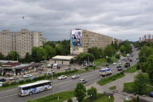 Медиафасад в г. Фрязино, Проспект Мира д. 8